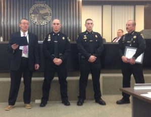 Sheriff Deputies Recognized for Life-Saving Response Following Motorcycle Crash