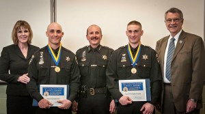 Senator Young Presents Medals to Two Chautauqua County Sheriff's Deputies for Heroic, Life-SavingAct