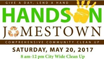 [LISTEN] Community Invited to Participate in Hands on Jamestown, After Party on Saturday May 20
