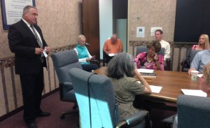 Falconer Mayor Attends Council Work Session, Urges City to End Annexation Effort
