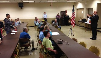 [LISTEN] Healthcare, Immigration, and College Tuition Among Several Items Discussed at Reed Town Hall Meeting