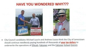 Campaign Flyer Critical of City Council Candidates, Questions Their Loyalty to Jamestown