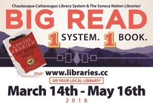 2018 Big Read Initiative Kicks Off Wednesday Night, March 14 in Salamanca
