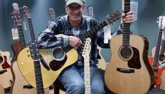 [LISTEN] Arts on Fire – Jim Holler of Trinity Guitars