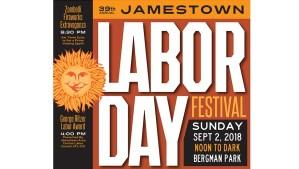 [LISTEN] Annual Jamestown Labor Day Festival is Sunday at Bergman Park