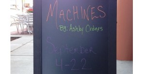 [LISTEN] Arts on Fire – Artist Ashley Ordines Discusses Machines Exhibit