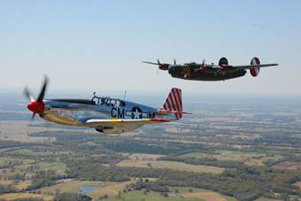 Jamestown Airport to Host WWII Aircraft Starting Monday, Aug  12