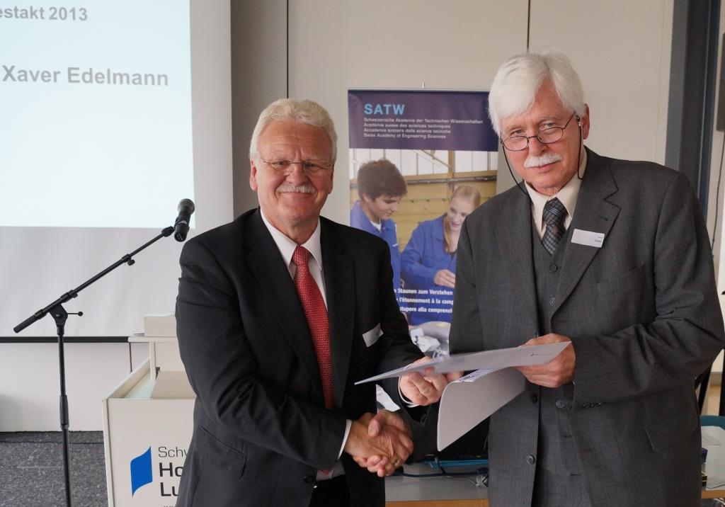 Xaver Edelmann appointed member SATW