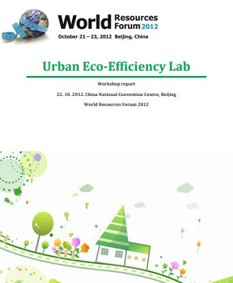 Urban Eco-Efficiency Lab, WRF 2012 Beijing