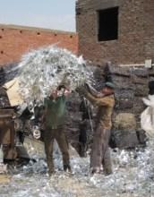 Photo: e-waste recycling in Egypt, (c) SRI