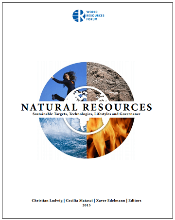"Last Copies of ""NATURAL RESOURCES – Sustainable Targets, Technologies, Lifestyles and Governance"" now for Sale"