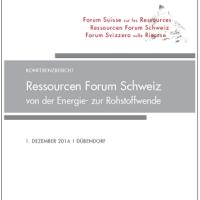 Swiss Resources Forum