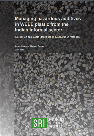 Managing hazardous additives in WEEE plastic from the Indian informal sector