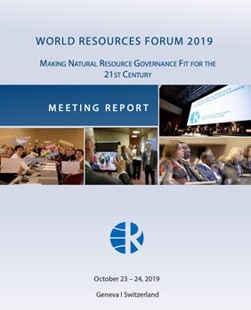 Making Natural Resource Governance Fit for the 21st Century – WRF 2019 Meeting Report