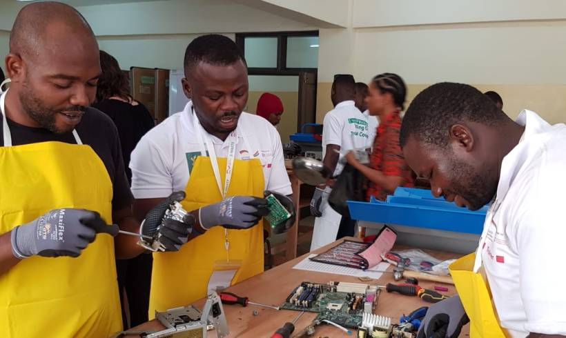 Three Key Ministries Pledge Full Support for Newly Launched Ambitious South African e-Waste Project