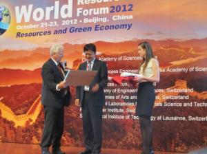 WRF 2012 co-chairs in closing ceremony