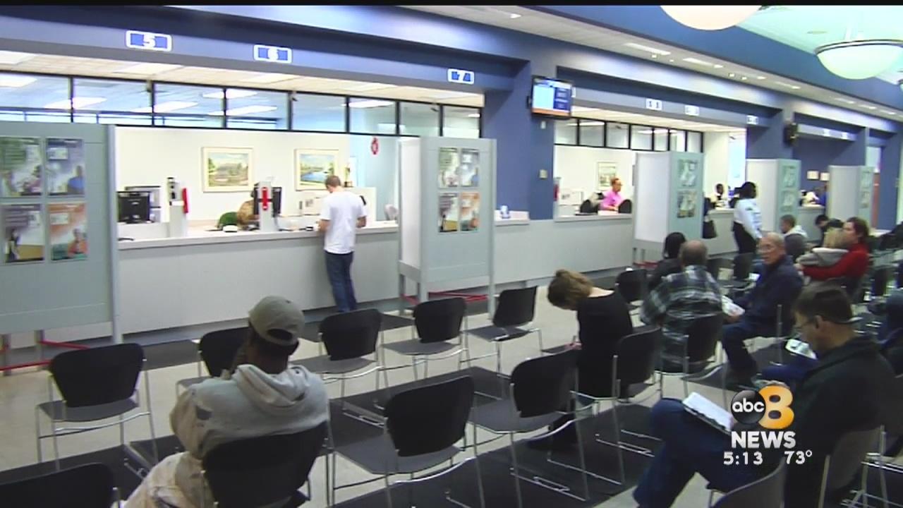 All Virginia DMV customer service centers will be closed Saturday