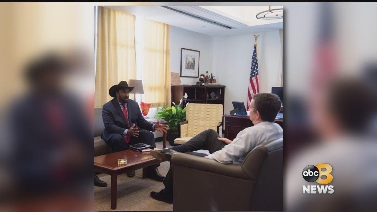 National Black Farmers Association founder backs Gov. Northam after the two meet