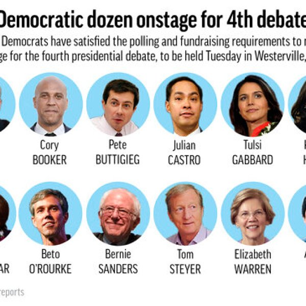 DEMOCRATS 4TH DEBATE