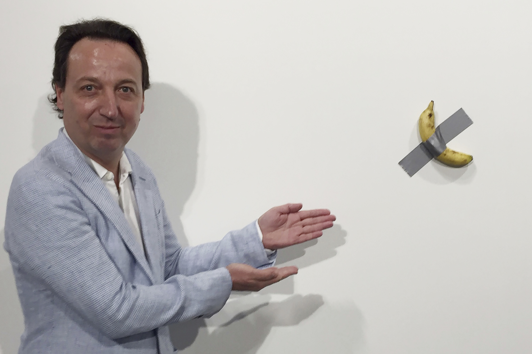 Banana, duct tape add up to $150,000 at Art Basel Miami | 8News