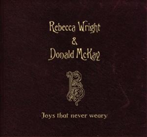 Rebecca & Donald's debut album cover