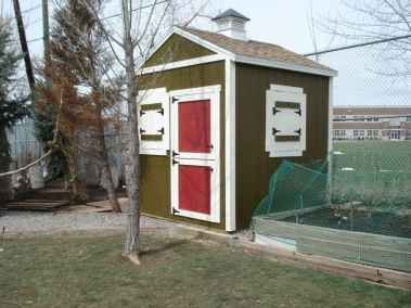 red door chicken coop
