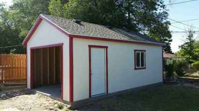 detached garage shed