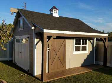 Orchard Shed with Sliding Door, Porch, and Deck