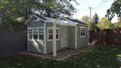 6Reasons toBuild a Shed in YourBack Yard