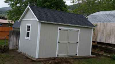 grey orchard shed