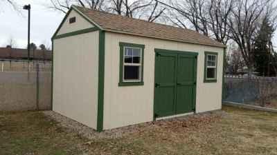 shed green doors