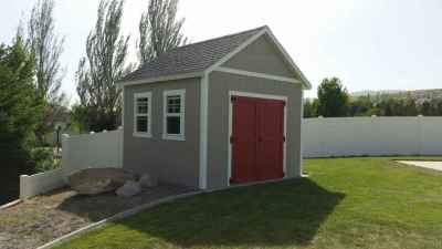 orchard shed red doors