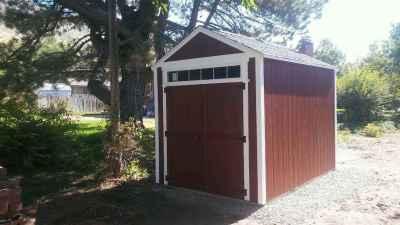 transom window shed