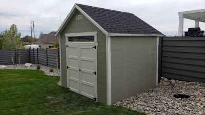 Orchard Shed in Highland, Utah - Wright Shed Co.
