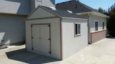 white orchard shed
