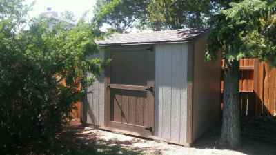 vinyard shed with side door