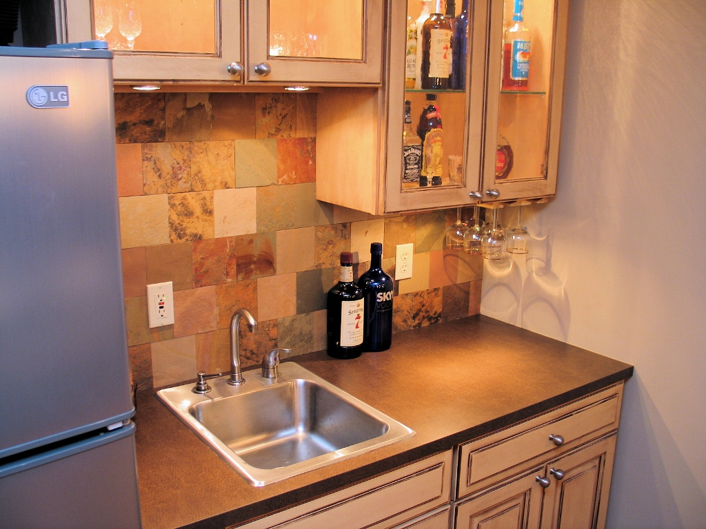 A Basement Finish to Entertain | WrightWorks LLC on Small Wet Bar In Basement  id=13524