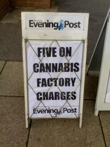 Five On Cannabis Factory Charges