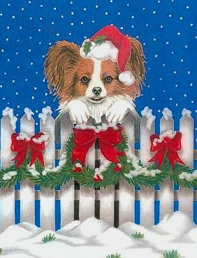 DOG BREED CHRISTMAST CARDS