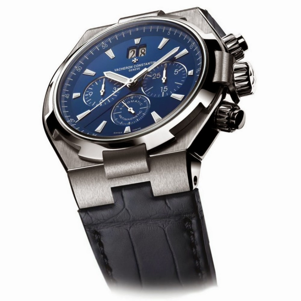 VACHERON Constantin Overseas BLUE Chrono 01