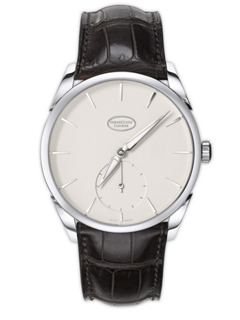 Parmigiani Tonda 1950 White Gold Grained White Dial Classic Watch
