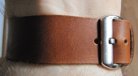 Cloudy Sky Leather Strap (8)