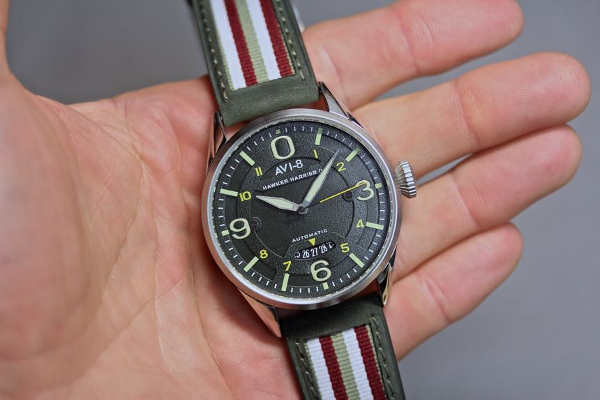 AVI-8 Hawker Harrier Hawker II | Wrist Watch Review
