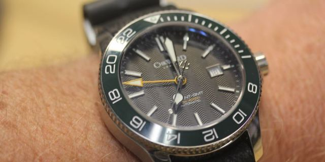 Christopher Ward Trident GMT Banner