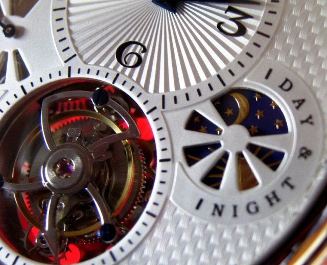 Poljot International Tourbillon detail