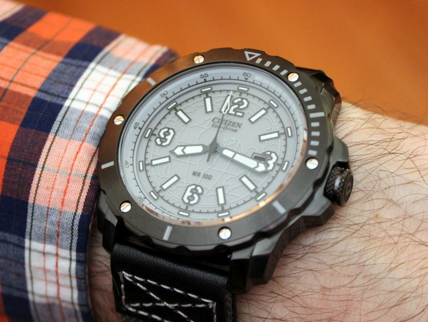 Harnessing The Sun With The Citizen Eco Drive Wrist Watch
