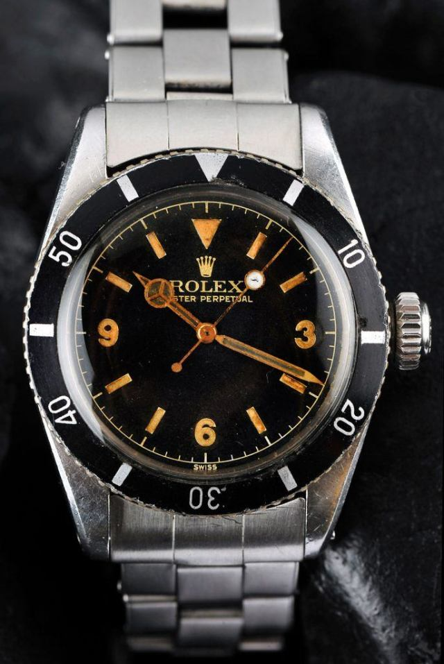 Rolex Submariner Reference 6200 3-6-9 Dial - hmmmm...