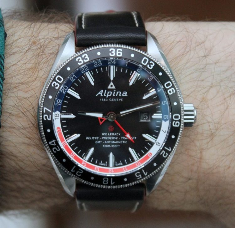 Getting Busy With The Alpina GMT Business Hours Wrist Watch Review - Alpina gmt