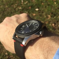 on the Max Difues strap we reviewed last year. So comfortable.
