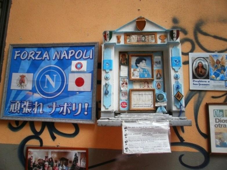 kapliczka maradony w neapolu